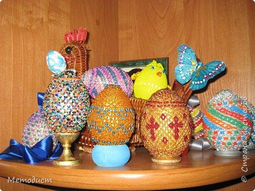 Бисероплетение: Пасхальные яйца из бисера