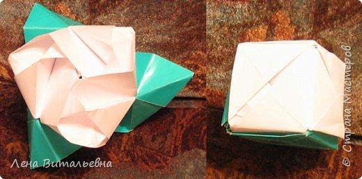 Оригами модульное: Волшебная роза