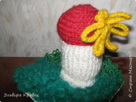 Вязание: Грибок. фото 2
