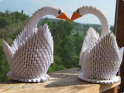 Я сделала ещё одного лебедя... фото 3