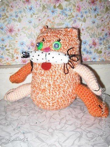 Вязание крючком: Мартовский кот.