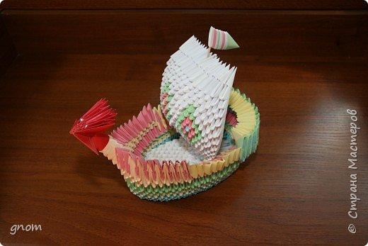 Оригами модульное: мечта об отпуске :) фото 2