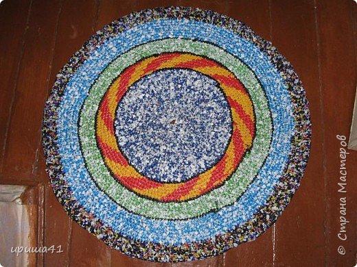 Интерьер Вязание крючком Чудо-коврики Материал бросовый фото 7