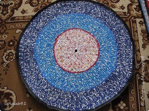 Интерьер Вязание крючком Чудо-коврики Материал бросовый фото 8