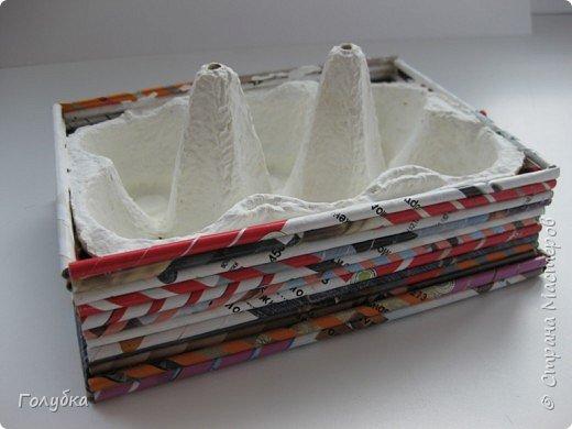 Пасхальная коробочка-подставка фото 3