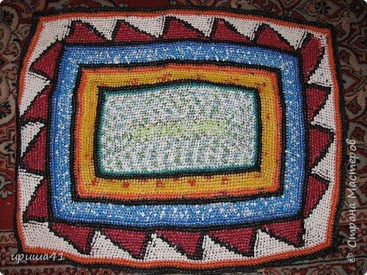 Интерьер Вязание крючком Чудо-коврики Материал бросовый фото 9