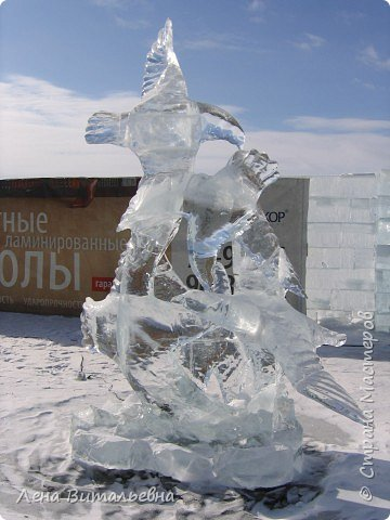 "Фестиваль ледяной скульптуры ""Музыка Байкала"" фото 6"