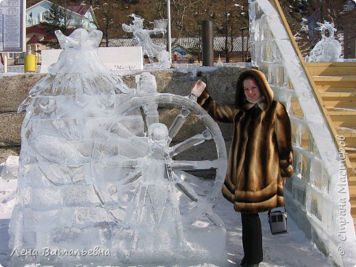 "Фестиваль ледяной скульптуры ""Музыка Байкала"" фото 9"