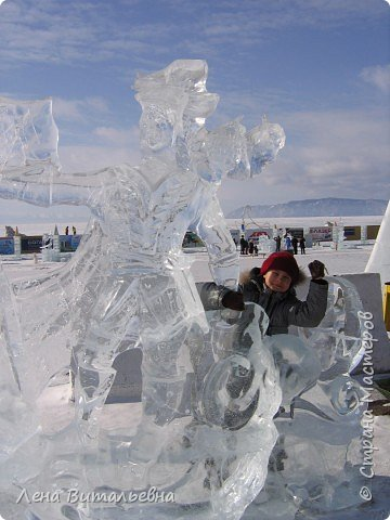 "Фестиваль ледяной скульптуры ""Музыка Байкала"" фото 10"