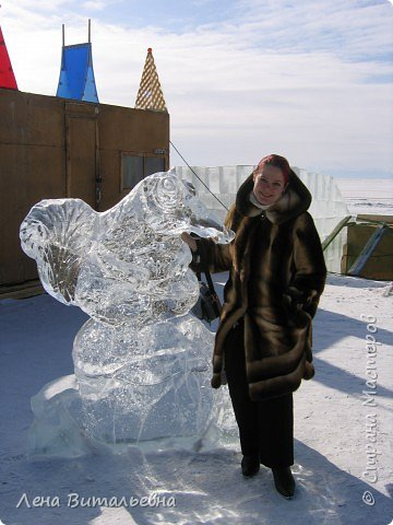 "Фестиваль ледяной скульптуры ""Музыка Байкала"" фото 12"
