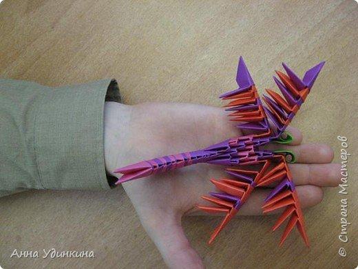 Оригами модульное: Хоровод стрекоз фото 3