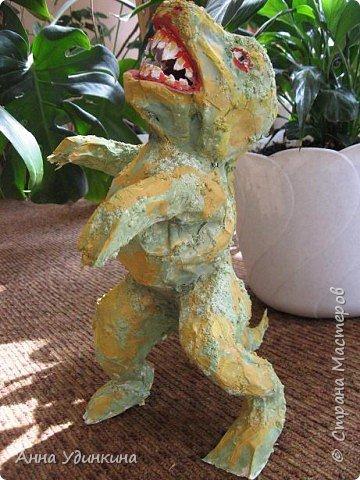 Папье-маше: Илюшины динозавры фото 2
