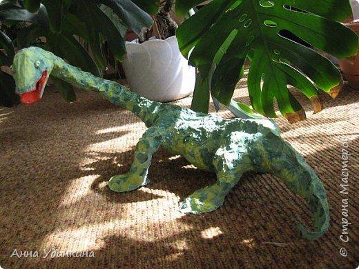 Папье-маше: Илюшины динозавры фото 1