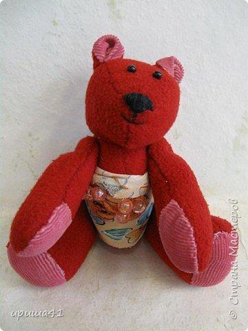 Игрушка мягкая: Медвежонок.