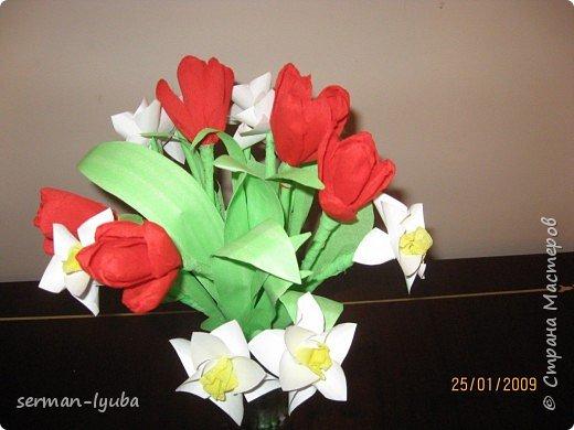 Оригами: Цветы фото 1