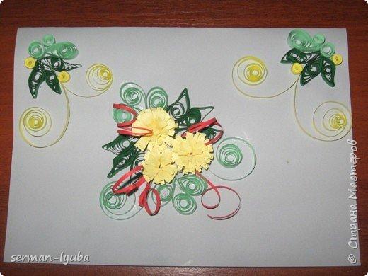 Квиллинг: открытки фото 3