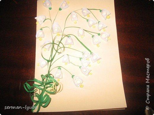 Квиллинг: открытки фото 4