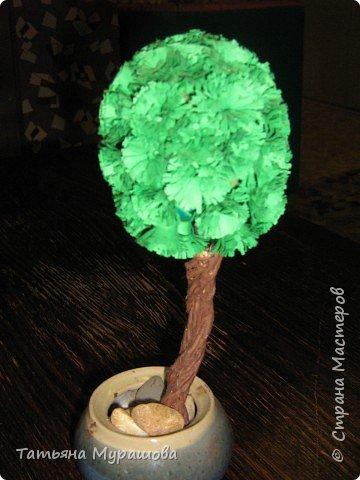 Квиллинг: деревце