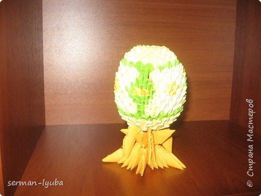 """Оригами модульное: Светлый праздник """"ПАСХИ"""" фото 1"""