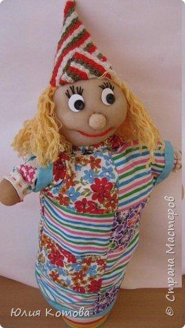 Игрушка мягкая: Перчаточная кукла