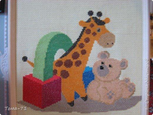 Вышивка крестом: детское панно вышивка крестиком из набора для вышивки