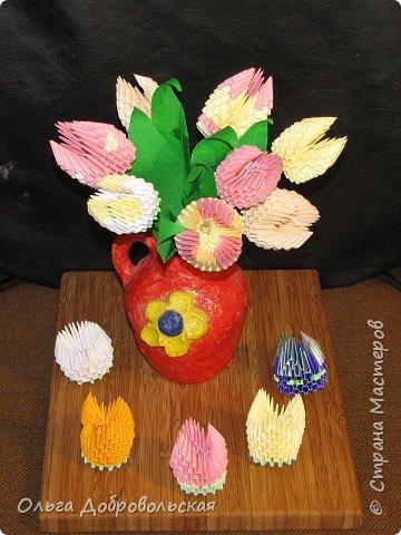 Оригами модульное: С Весной! фото 2