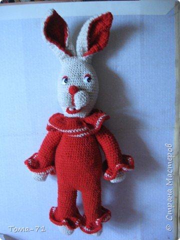 "Вязание крючком: заяц из ""бурды"""