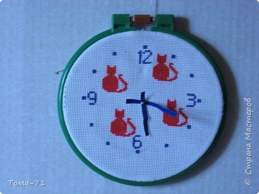 Вышивка крестом:  часы, вышивка крестиком из набора для вышивки