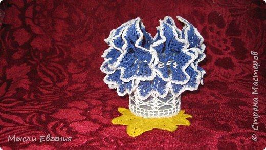 Вязание: ваза фото 1