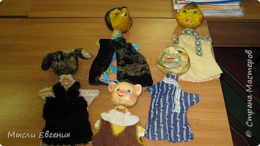 Папье-маше: куклы для театра фото 1
