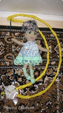 Вязание: танцавщица на луне фото 2