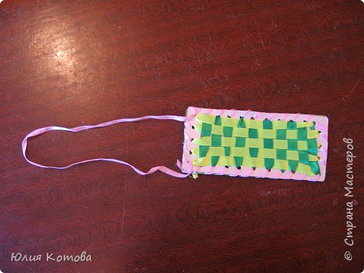 Плетение: Футляр для очков