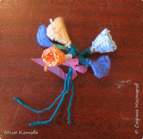 Плетение: Букет