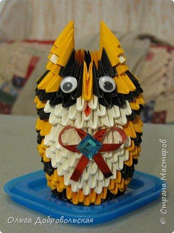 Оригами модульное: Гарфилд
