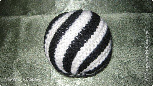 Вязание: мячики вязаные фото 2