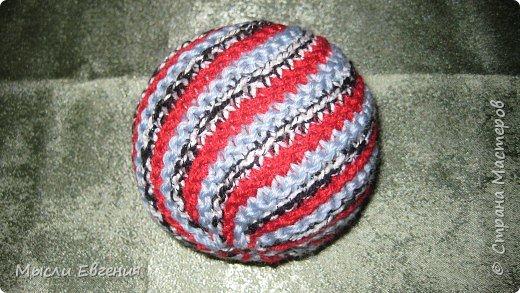 Вязание: мячики вязаные фото 3