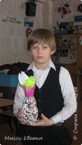Оригами модульное: подарок для мамы