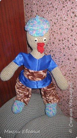 Вязание: гусенок