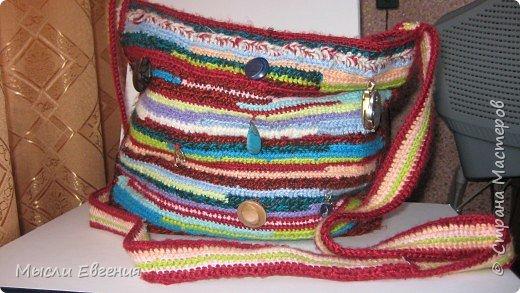 Вязание: сумочка