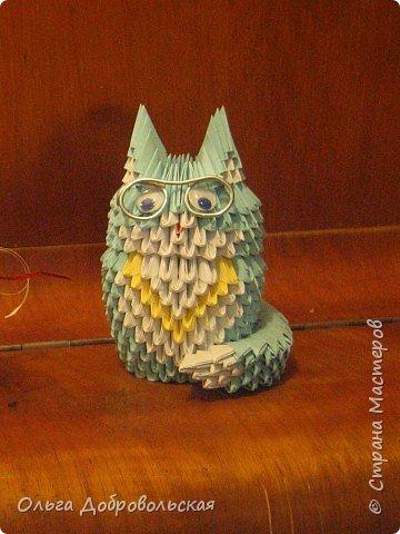 Оригами модульное: Кот ученый...