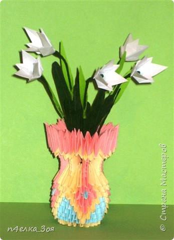 Оригами модульное: Подарок к 8 Марта