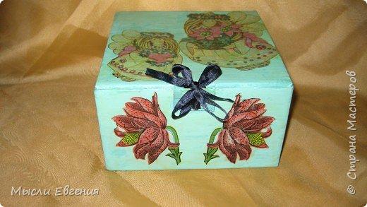 Декупаж: коробочка фото 1