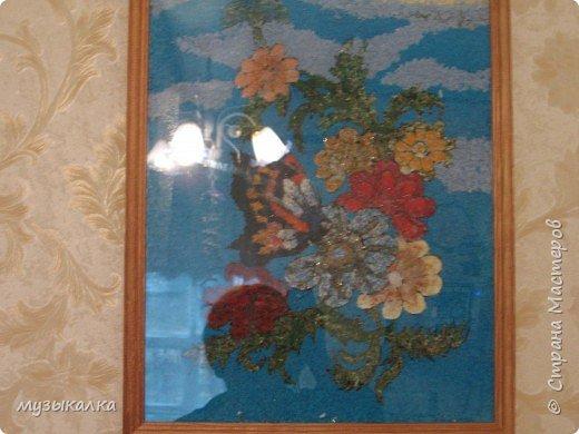 КАРТИНА ИЗ ТКАНИ фото 2