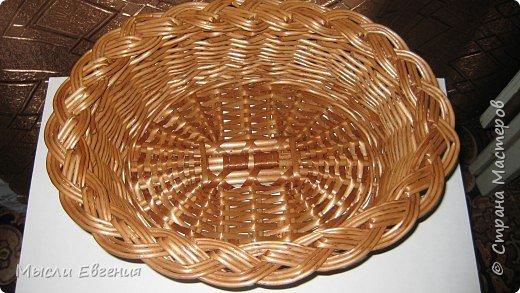 Плетение: плетенка под хлеб фото 2