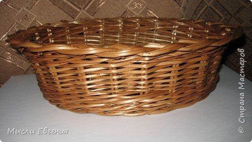 Плетение: плетенка под хлеб фото 3