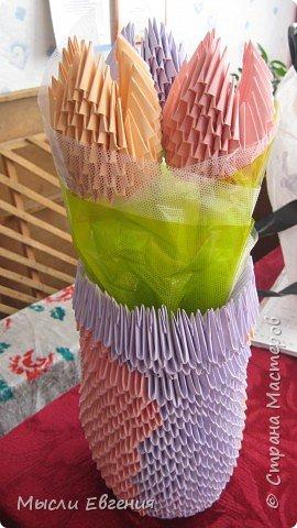 Оригами модульное: снова цветы фото 2