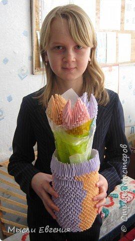 Оригами модульное: снова цветы фото 1