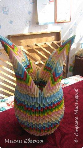 Оригами модульное: еще одна ваза фото 2