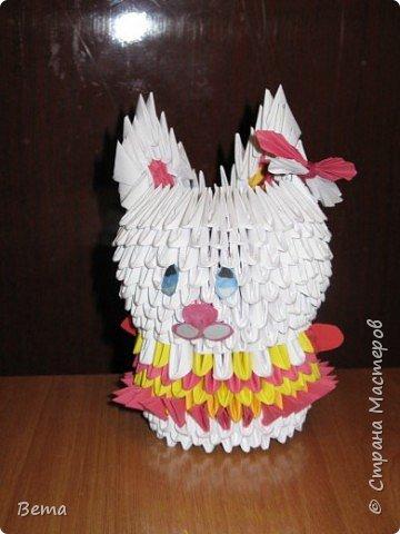 Оригами модульное: Моя модница