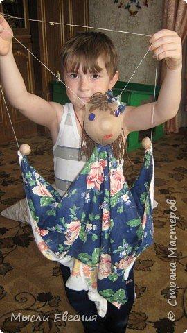 Шитьё: кукла марионетка (оберег)